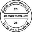 Officially approved Porsche Club 25